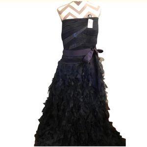 Exquisite Navy Formal Gown